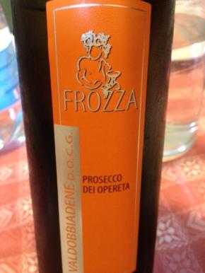 """Valdobbiadene Prosecco Tranquillo """"Dei Opereta"""" 2014 - Frozza"""