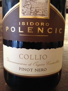 Collio Pinot Nero 2012 - Isidoro Polencic