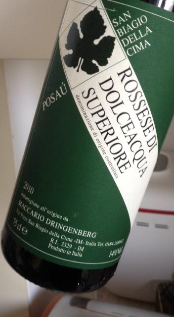 Rossese di Dolceacqua Superiore Posaù 2010 - Maccario Dringenberg