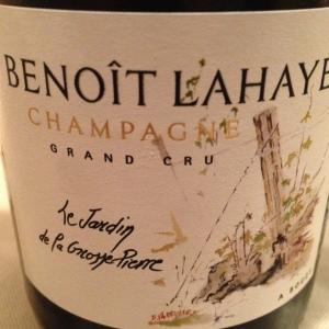 """Champagne """"Le Jardin de la Grosse Pierre"""" 2010 - Benoît Lahaye"""
