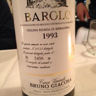 Barolo Collina Rionda 1993 - Bruno Giacosa