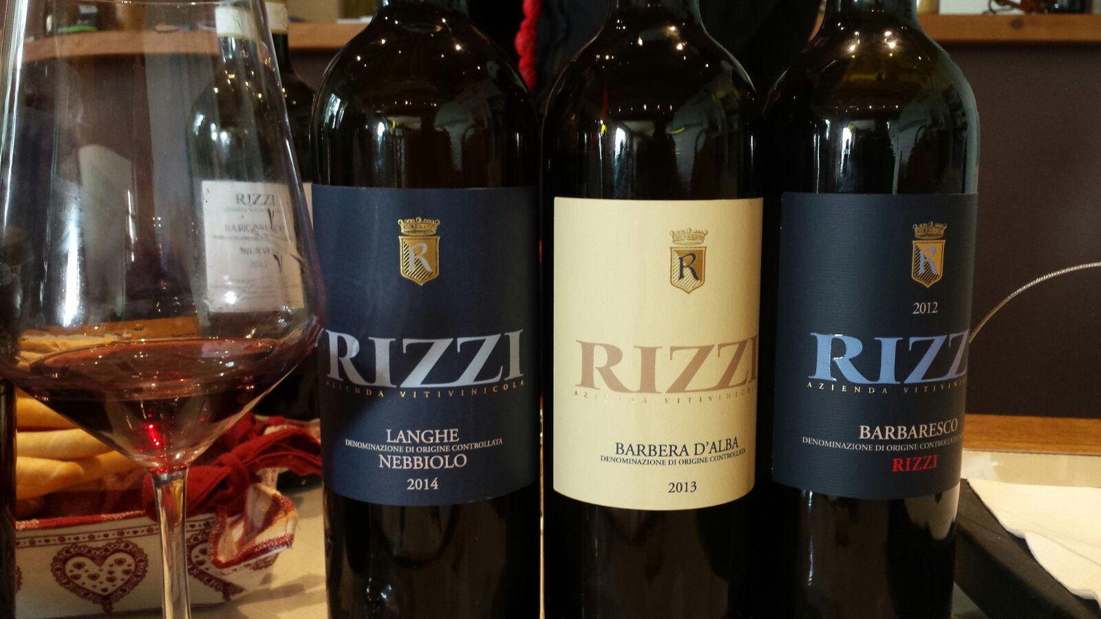 Degustazione vini presso Cantina Rizzi