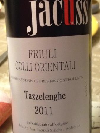 Colli Orientali del Friuli Tazzelenghe 2011 - Jacùss