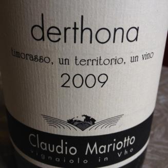 Timorasso Derthona 2011 - Claudio Mariotto