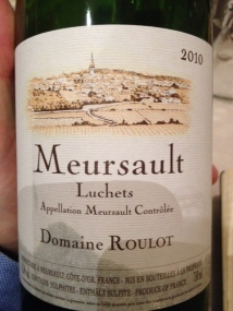 Meursault Luchets 2010 - Domaine Roulot