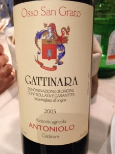 Gattinara Osso San Grato 2005 - Antoniolo