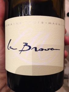 """Vin de Savoie Arbin """"La Brova"""" 2008 - Louis Magnin"""
