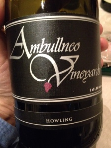 Syrah Santa Maria Valley Howling 2006 – Ambullneo Vineyards