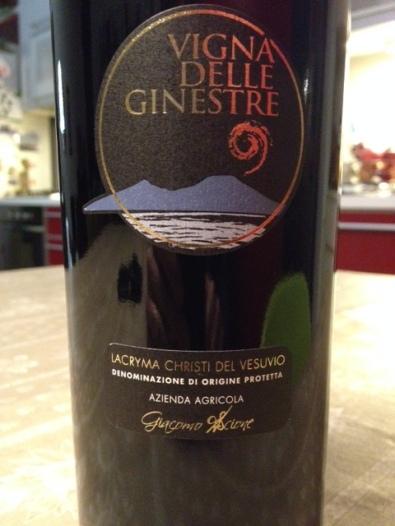 Lacryma Christi Rosso 2015 - Vigna delle Ginestre