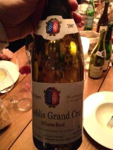 Chablis Blanchot Grand Cru v.v. 2007 - Guy Robin