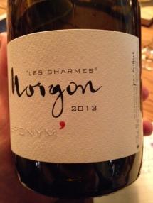 Morgon Les Charmes Eponym' 2013 - Foillard