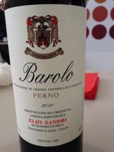 Barolo Perno 2010 - Elio Sandri