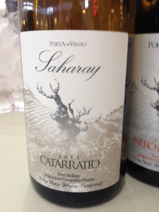 "Catarratto ""Saharay"" 2015 - Porta del Vento"