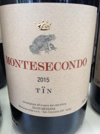 "Sangiovese ""TÏN"" 2015 - Montesecondo"