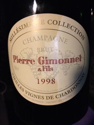 Champagne Brut v.v. 1998 - Gimonnet
