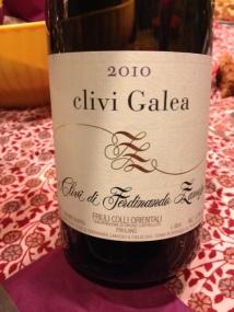 """COF Friulano """"Galea"""" 2010 - i Clivi"""