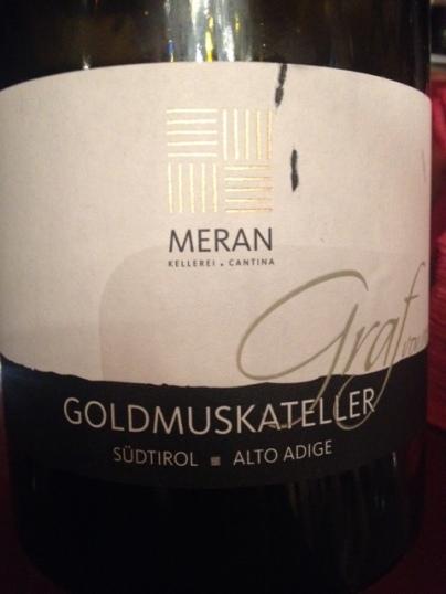 Alto Adige Goldmuskateller Graf 2015 - Meran