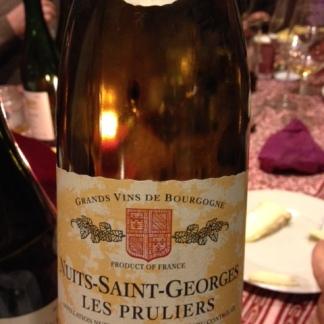 """Nuits-Saints-Georges """"Les Pruliers"""" 1er cru 2010 - Robert Chevillon"""