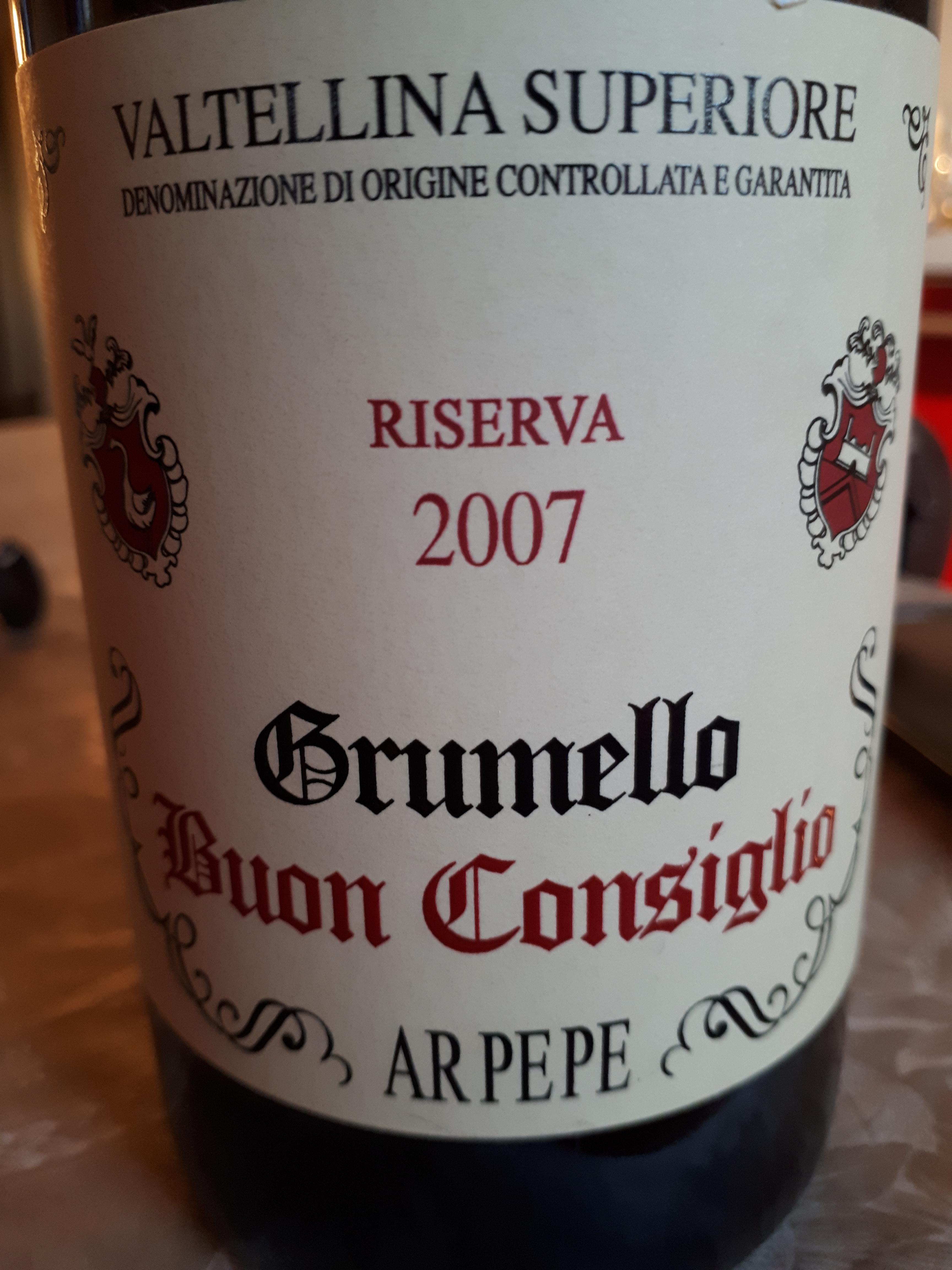 Grumello Buon Consiglio 2007 - Ar.Pe.Pe.