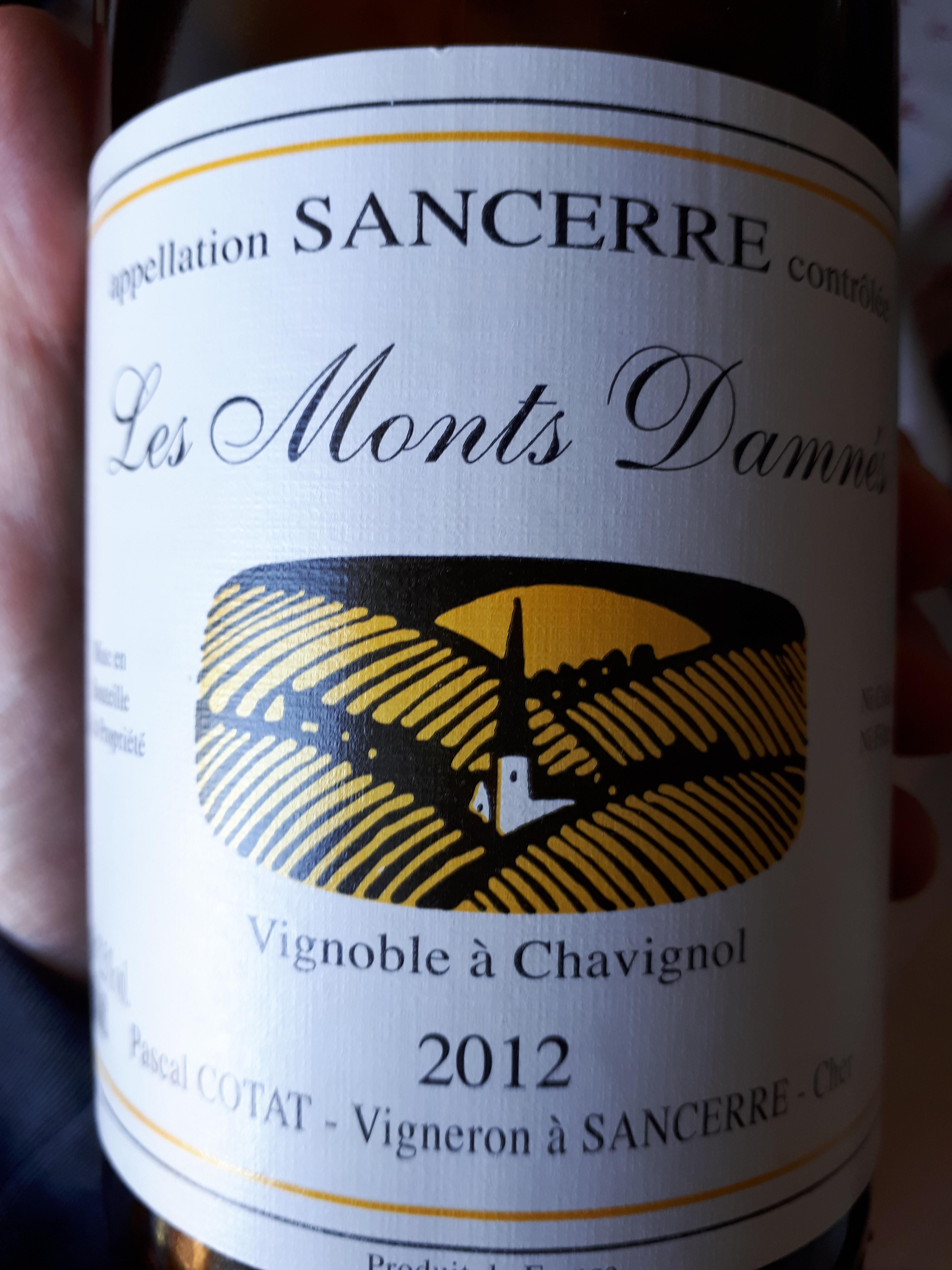"""Sancerre """"Les Monts Damnès"""" 2012 - Pascal Cotat"""