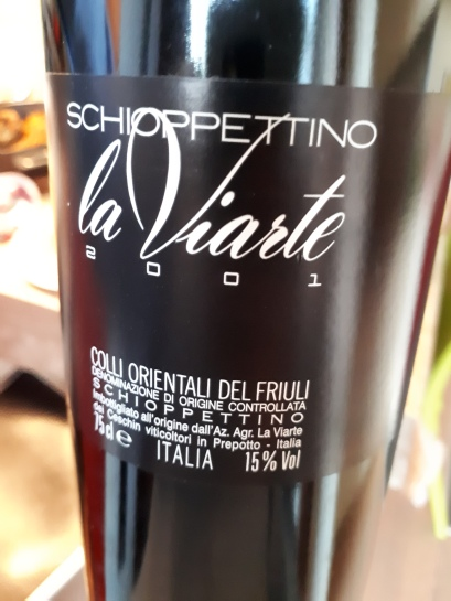 Schioppettino 2001 - la Viarte