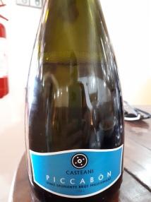 """Vino Spumante Brut """"Piccabòn"""" 2016 - Casteani"""