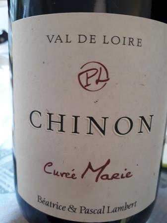 Chinon Cuveé Marie 2013 - Béatrice et Pascal Lambert