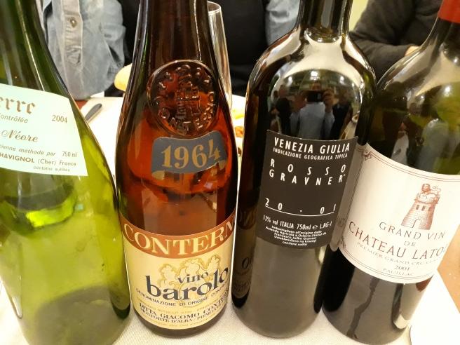 i Fantastici 4: Vatan, Conterno, Gravner, Château Latour