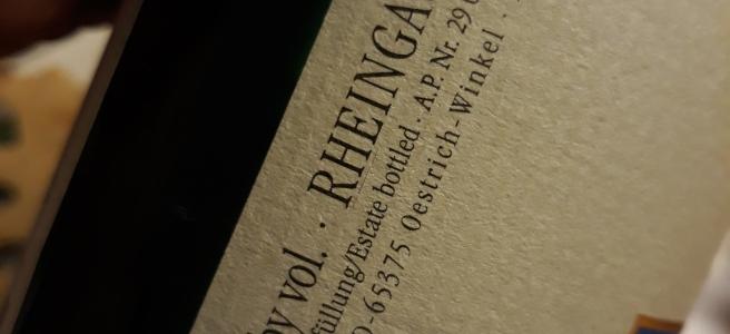 """Rheingau Riesling """"Milestone"""" 2008 - Querbach"""