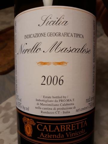 Nerello Mascalese v.v. 2006 - Calabretta