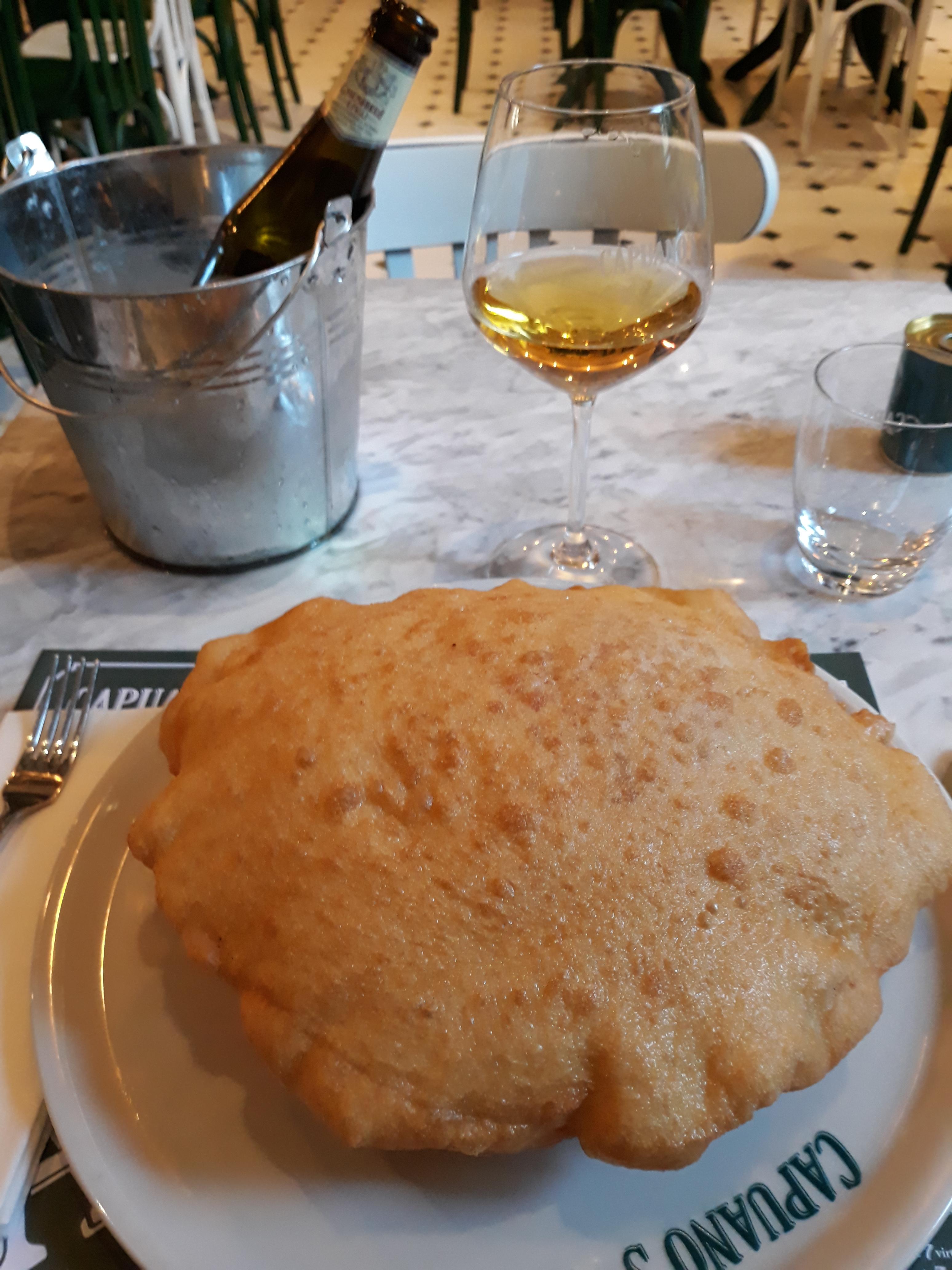 L'Antica, la pizza fritta di Capuano's