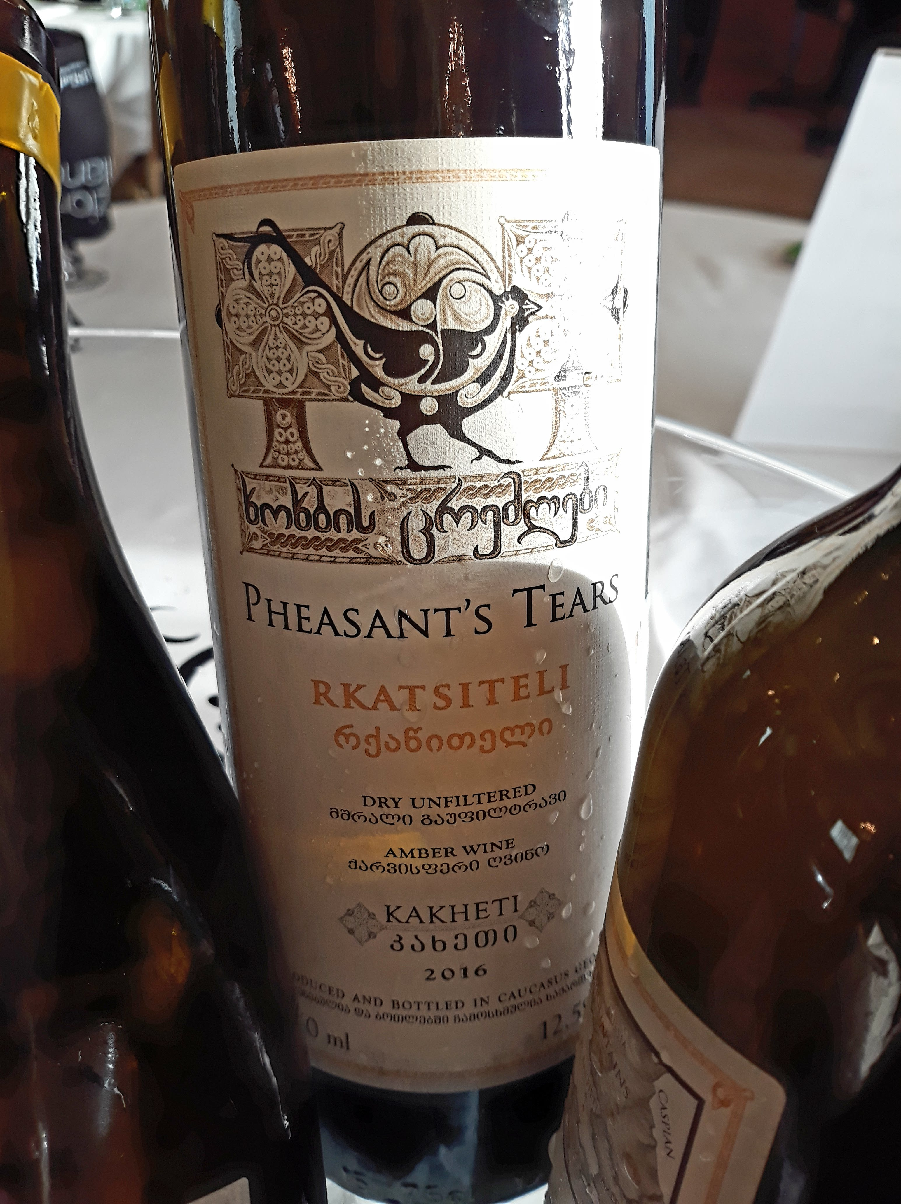 Rkatsiteli 2016 - Pheasant's Tears