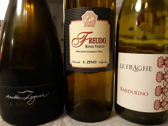 3 vini del lago di Garda