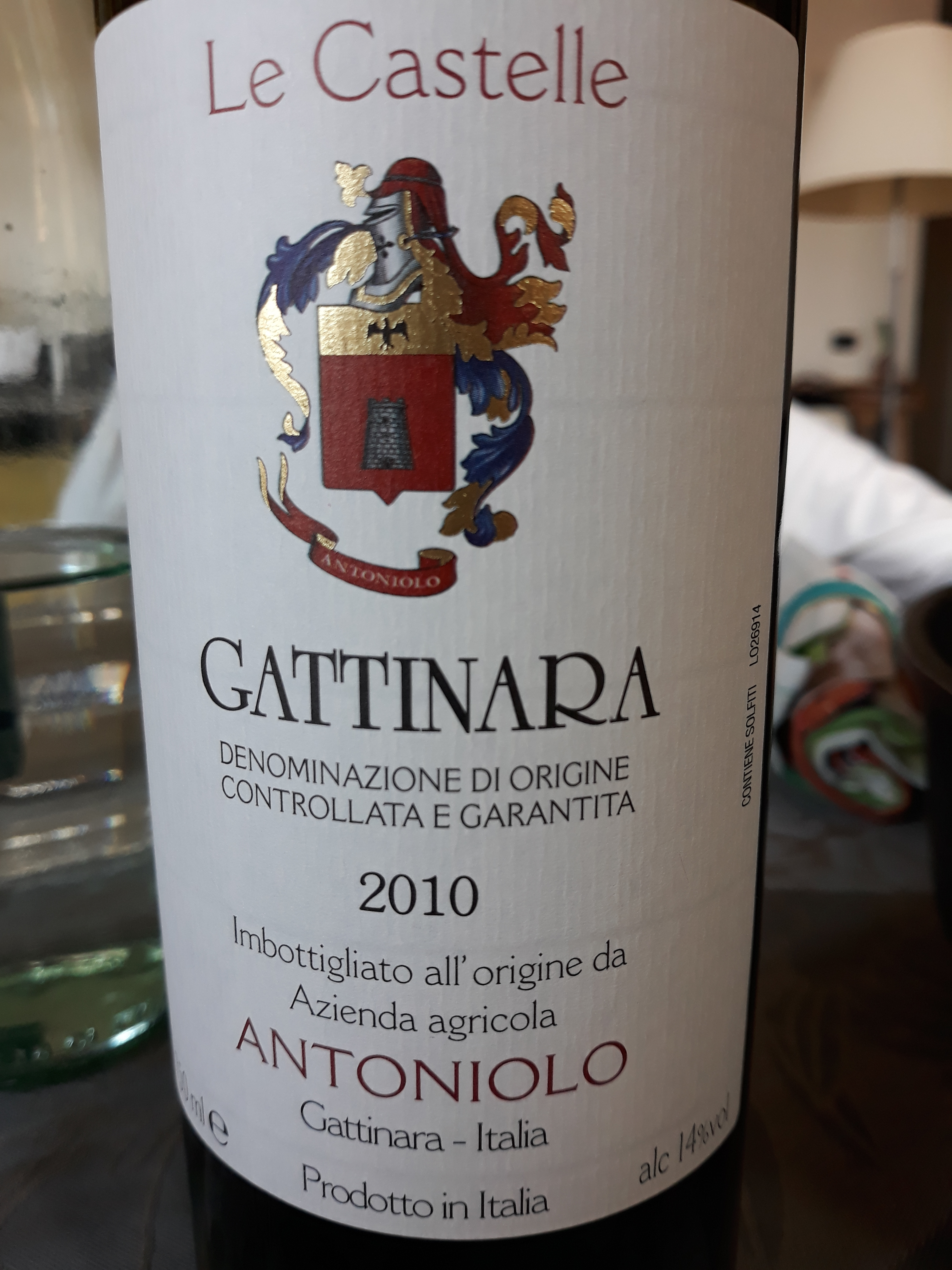Gattinara Le Castelle 2010 - Antoniolo