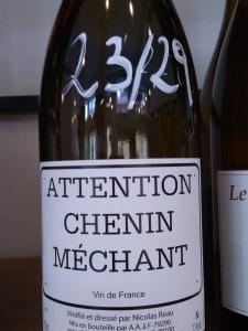 Attention Chenin Méchant - Nicolas Reau