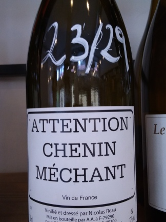 Attention Chenin Méchant - Nicolas Reau