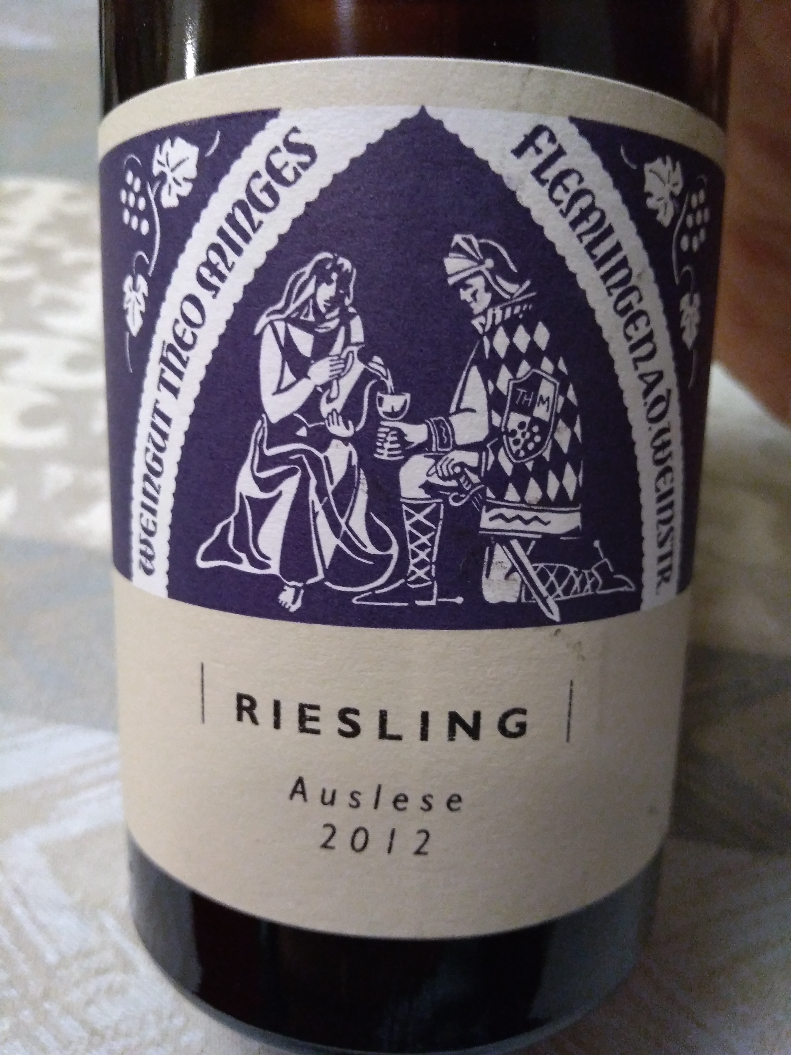 Pfalz Riesling Auslese 2012 - Theo Minges