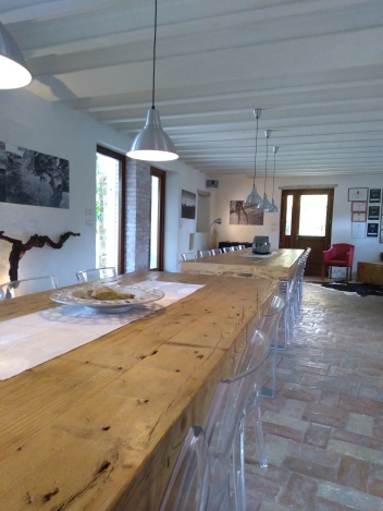 Sala degustazione Roncùs