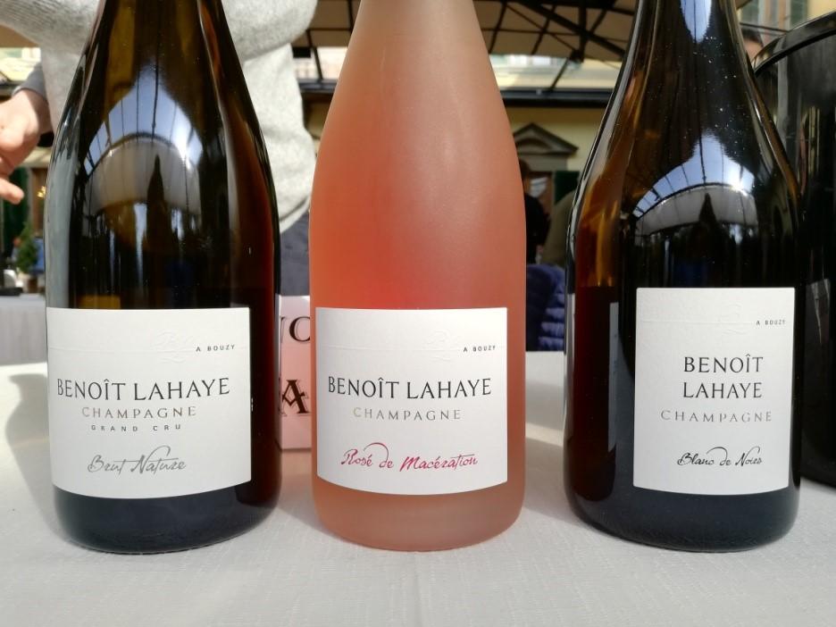 Gli Champagne di Benoît Lahaye