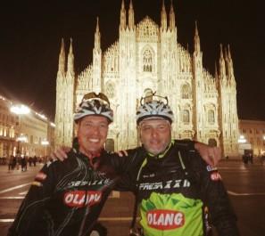 490 km su due ruote, due amici, una sfida condivisa e dopo … tanto vino condiviso
