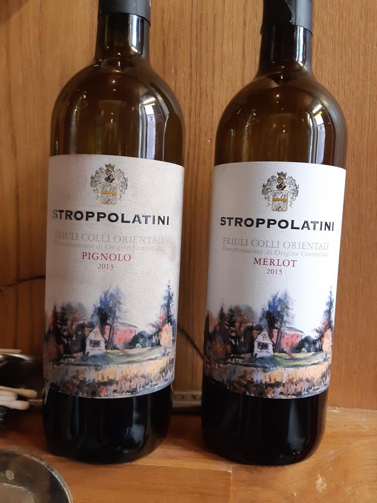 Merlot 2015 e Pignolo 2013
